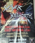 review, tim vermoens, slayer, megadeth, big 4, vorst nationaal, Drums are for Parades