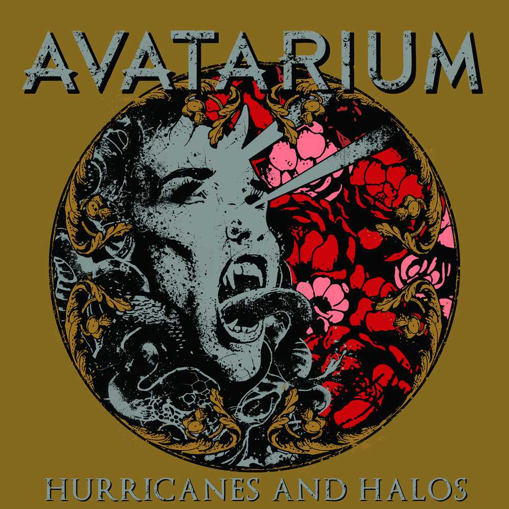 avatarium hurricanes and halos album cover