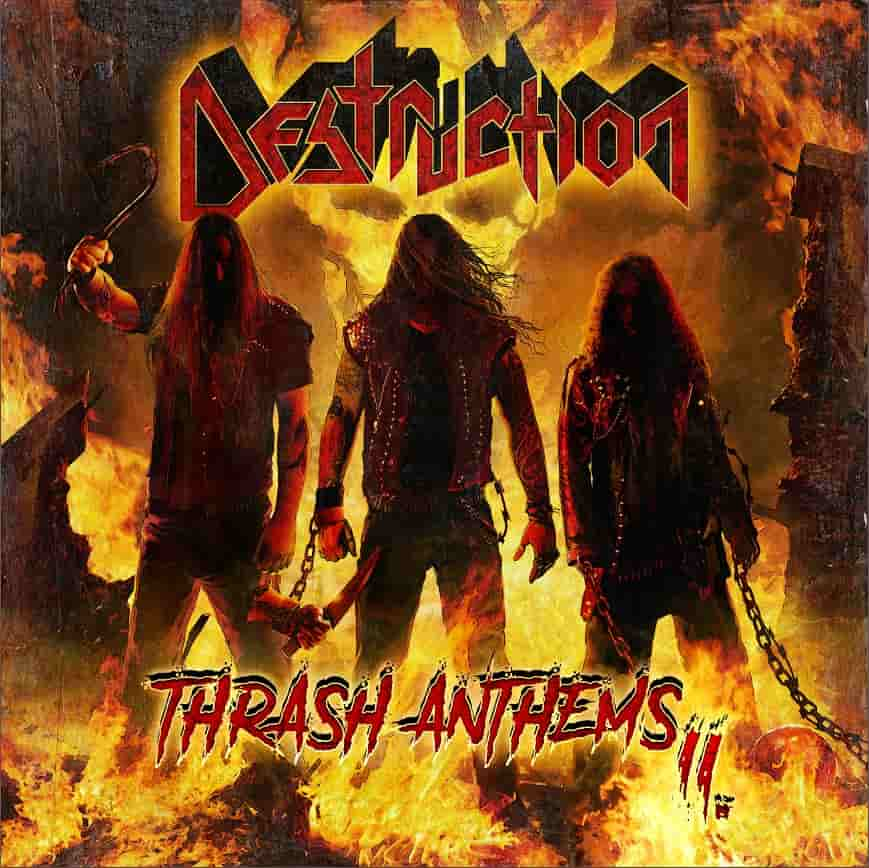 destruction thrash anthems II album cover