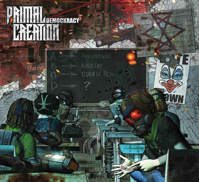 primal creation demockracy album cover