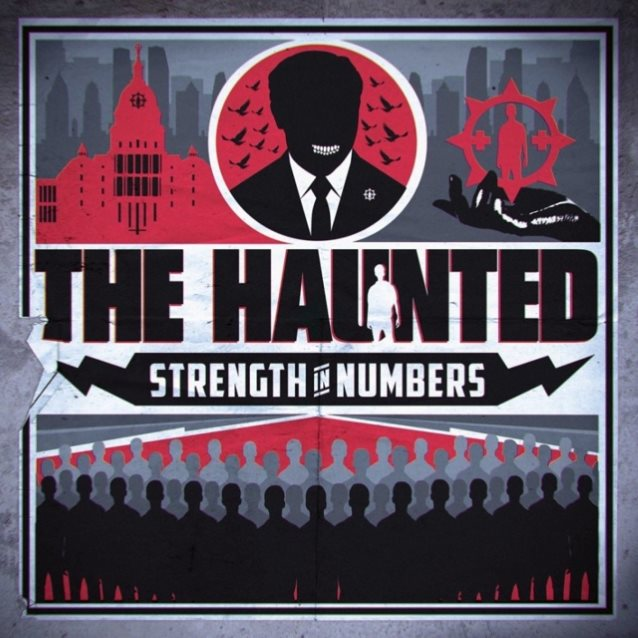 the haunted strength in numbers album cover