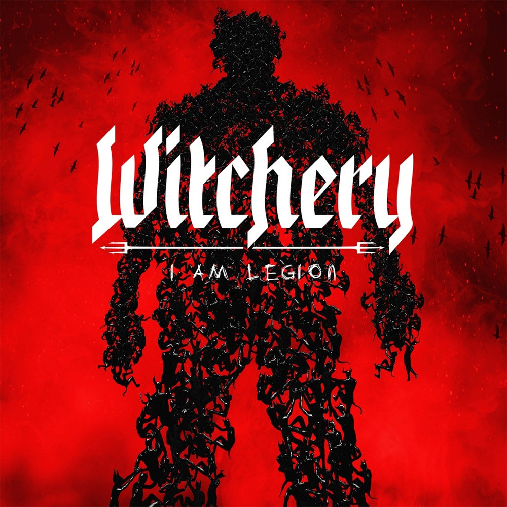 witchery i am legion album cover