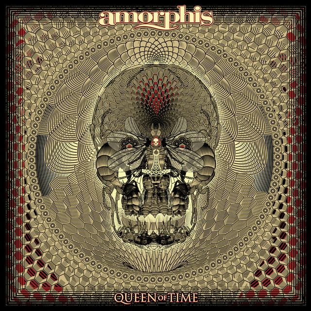 amorphis queen of time album cover