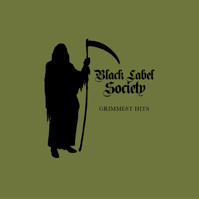 black label society grimmest hits album cover