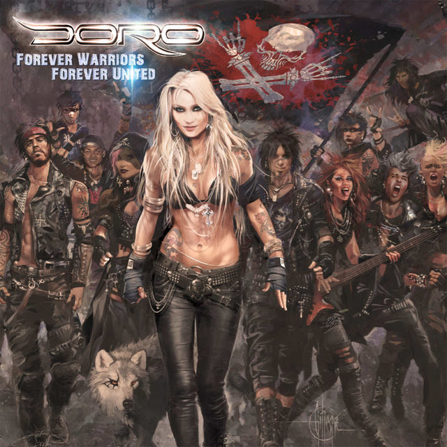doro forever warriors forever united cover art