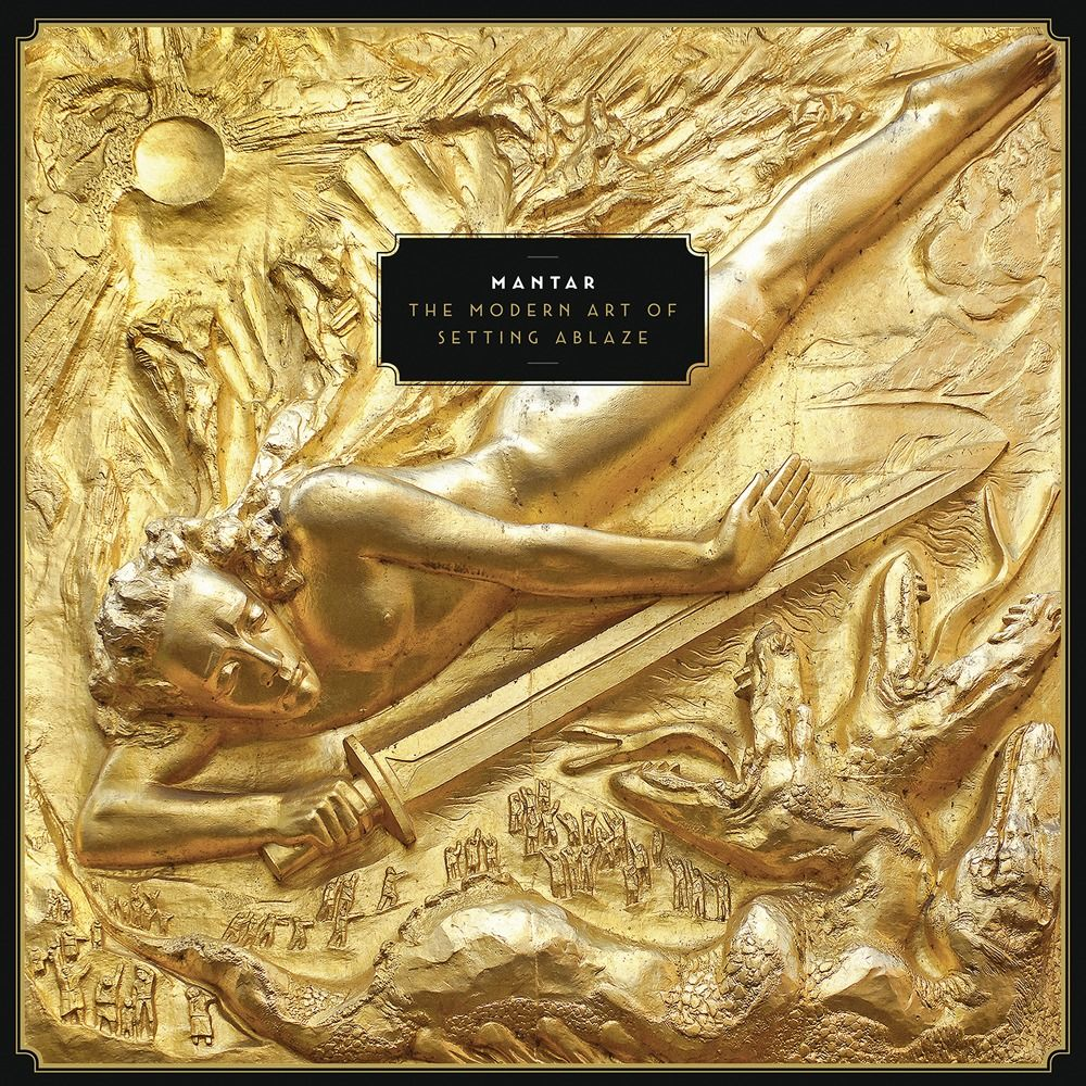 mantar the modern art of setting ablaze album cover