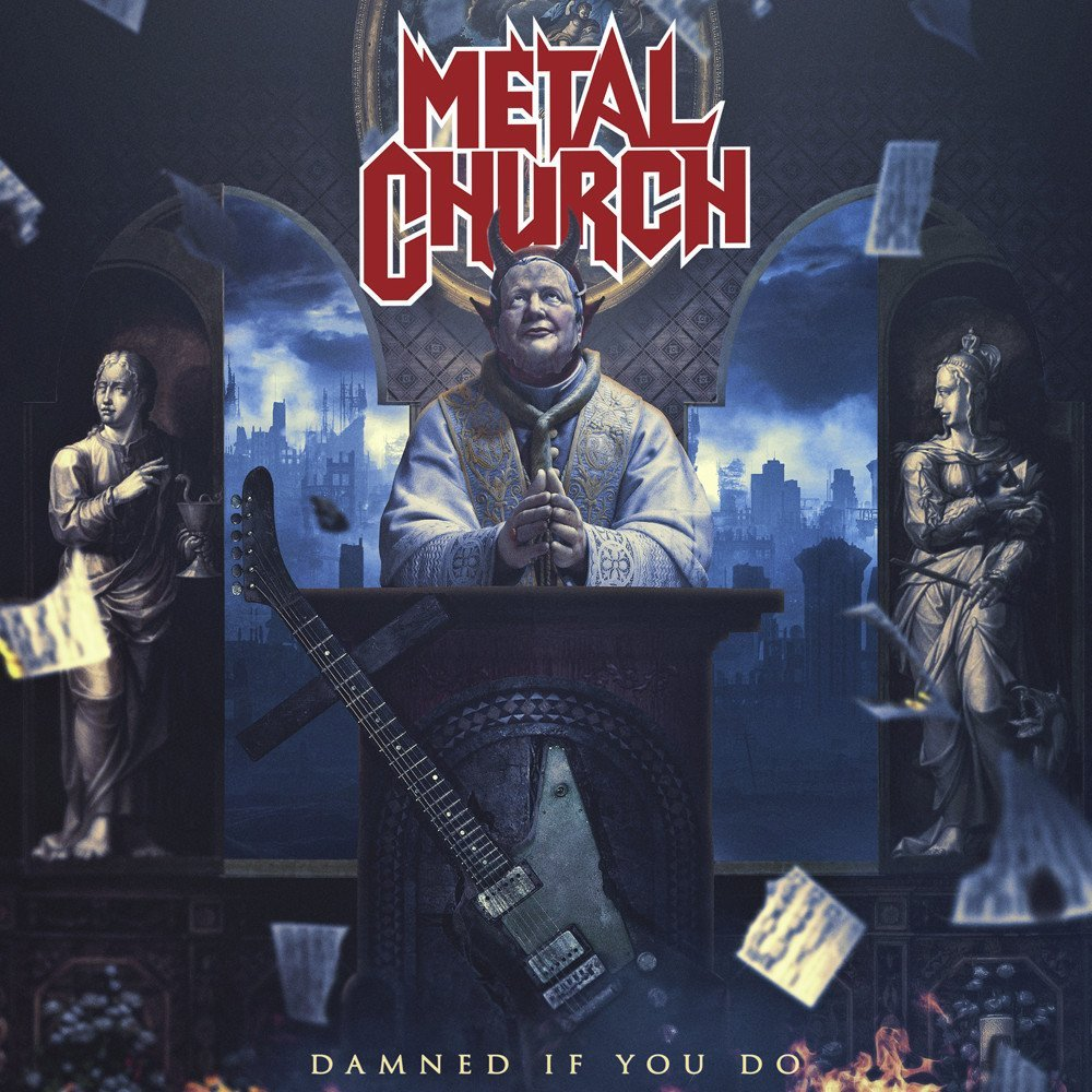 metal church damned if you do album cover