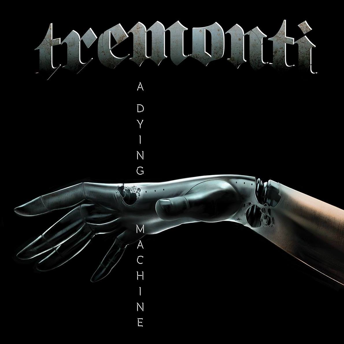 tremonti a dying machine album cover