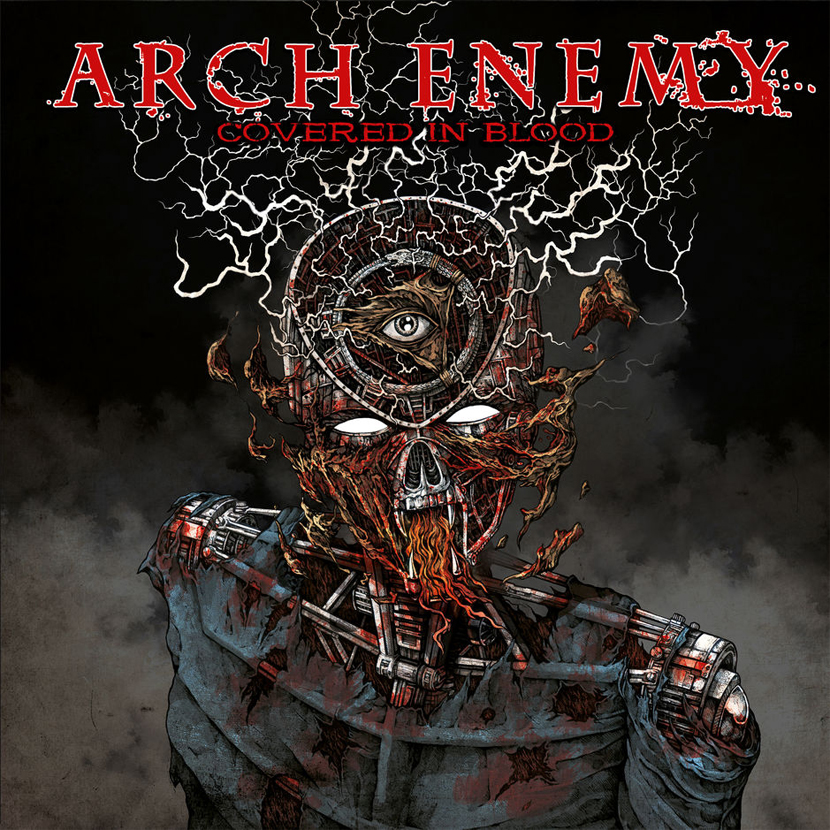 arch enemy covered in blood album cover