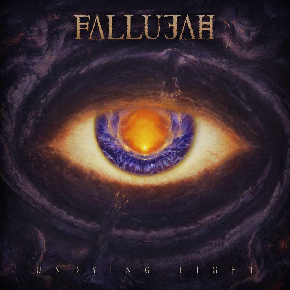 fallujah undying light album cover