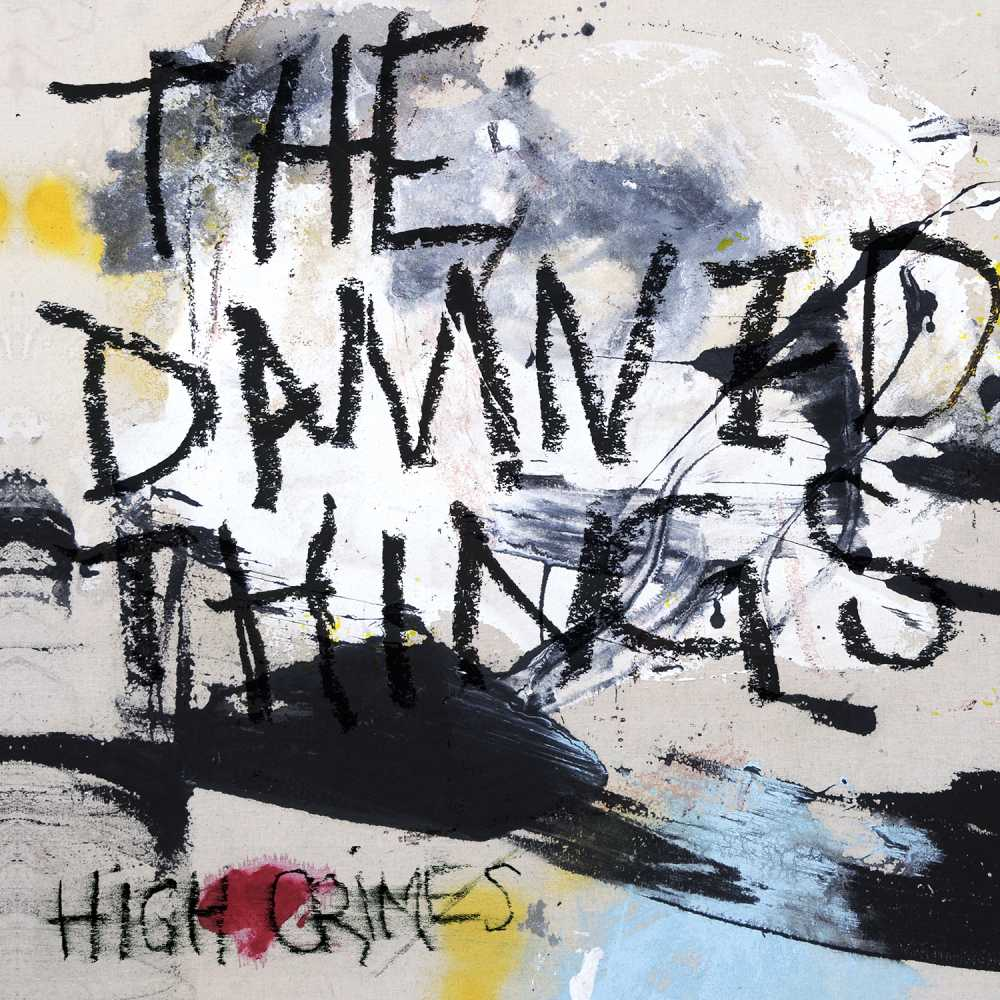 the damned things high crimes album cover