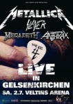 erik van damme,kurt lamberigts,metallica,slayer,megadeth,anthrax,review,big 4,duitsland,setlist