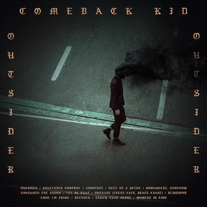 comeback kid outsider album cover