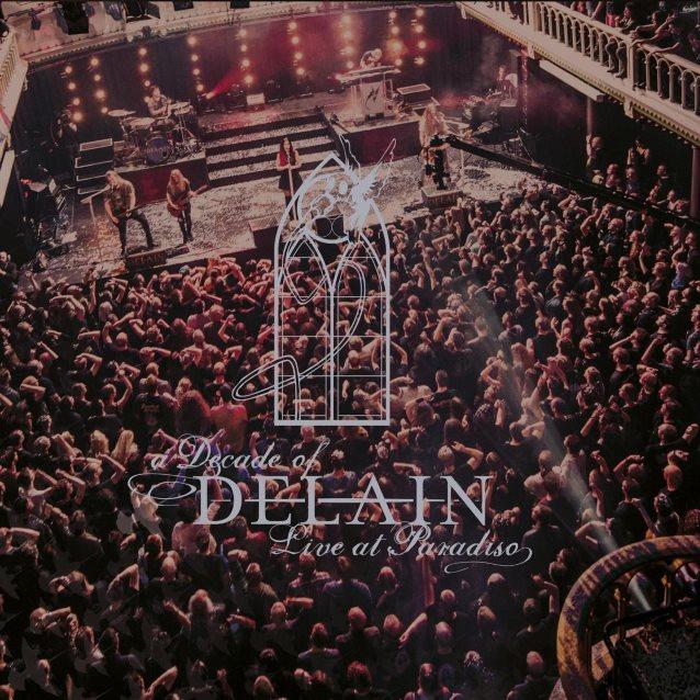 delain a decade of delain live at paradiso album cover