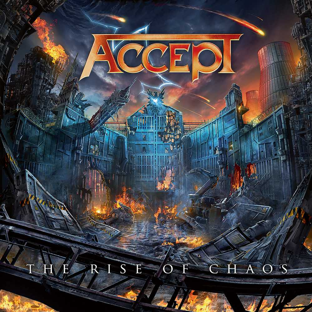 accept the rise of chaos album cover