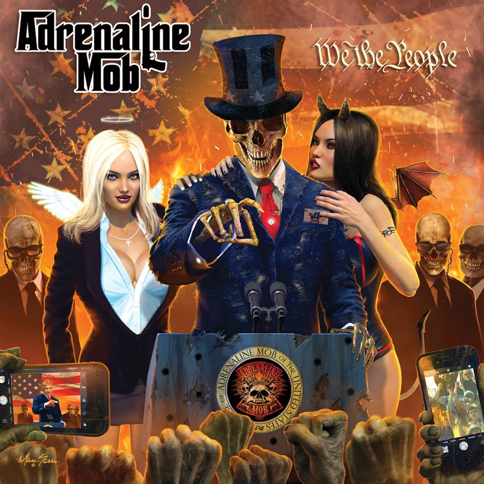 adrenaline mob we the people album cover
