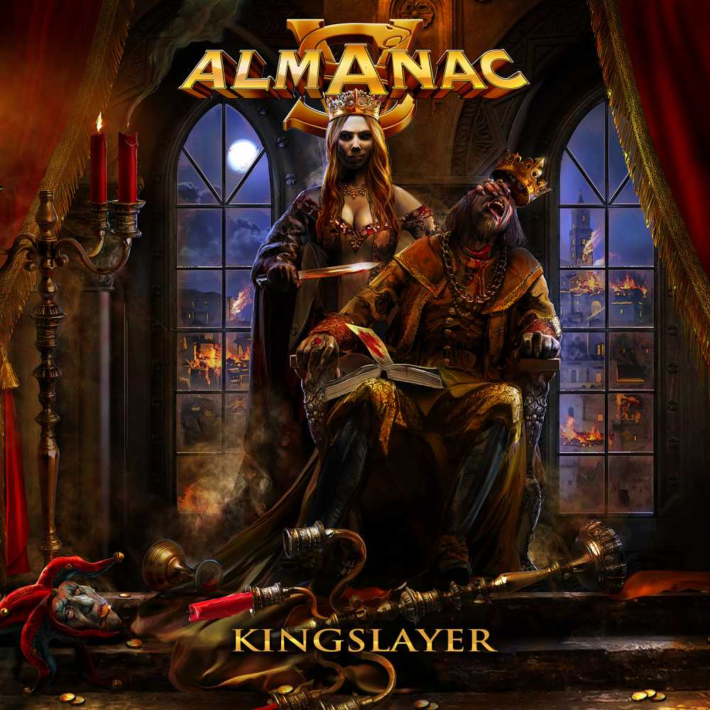 almanac kingslayer album cover