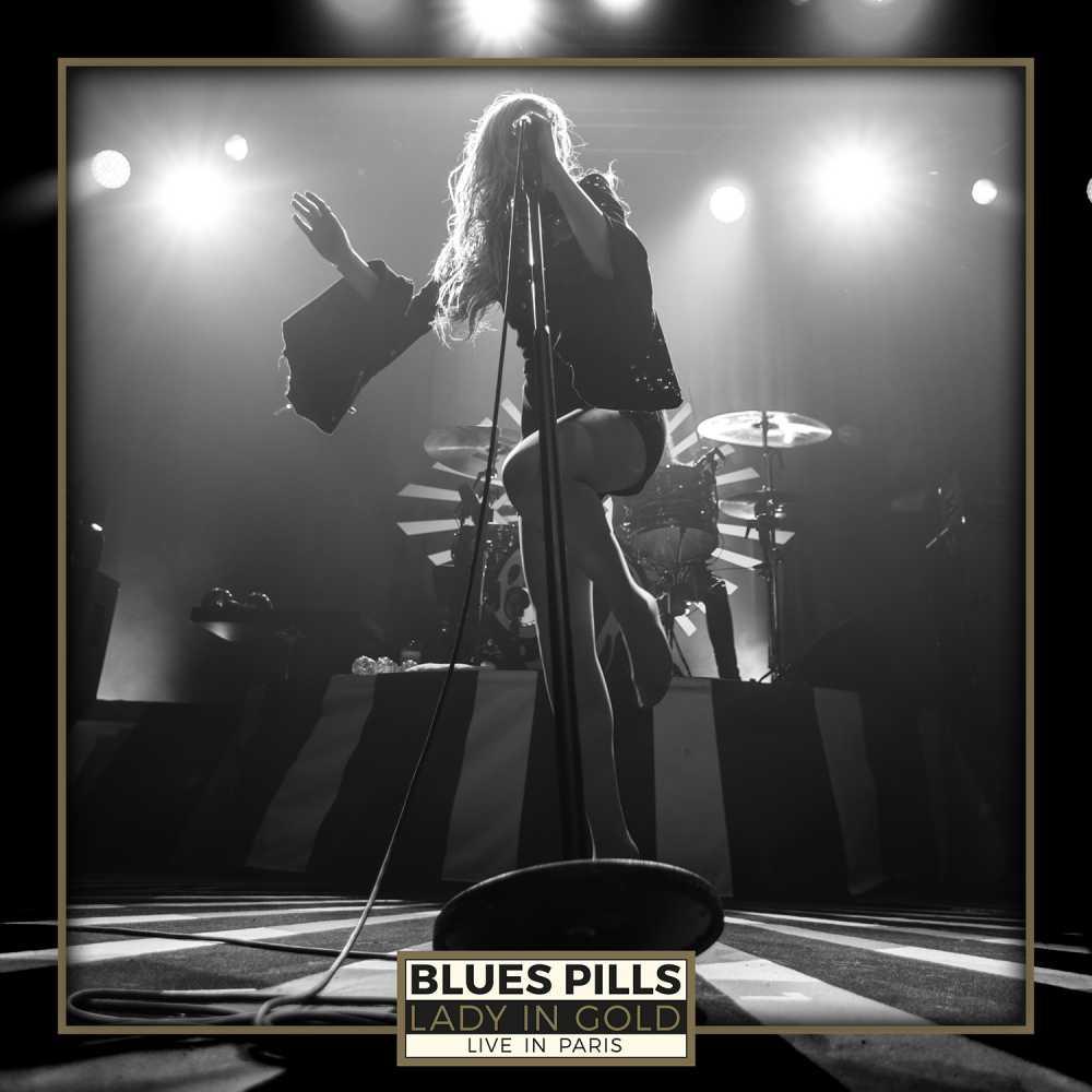 blues pills lady in gold live in paris album cover