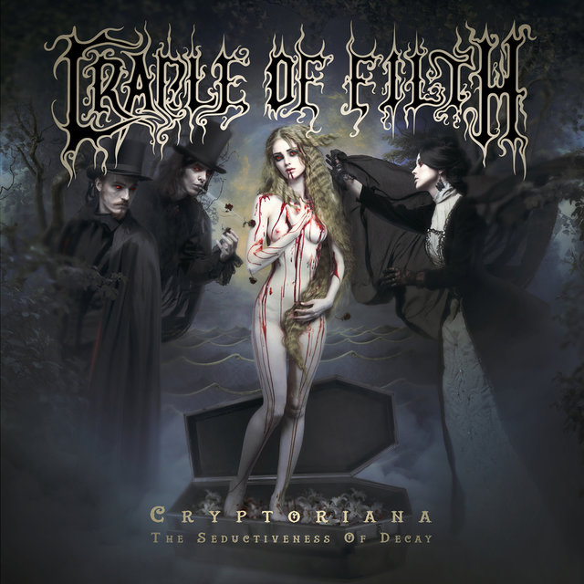 cradle of filth cryptoriana the seductiveness of decay album cover