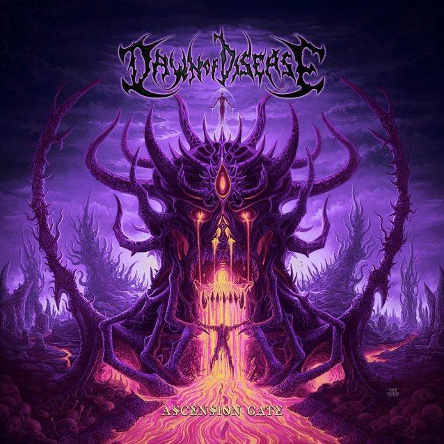 dawn of disease ascension gate album cover