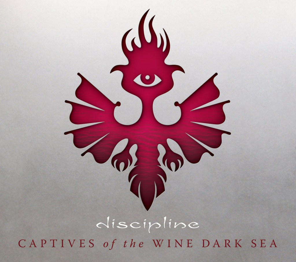 discipline captives of the wine dark sea album cover