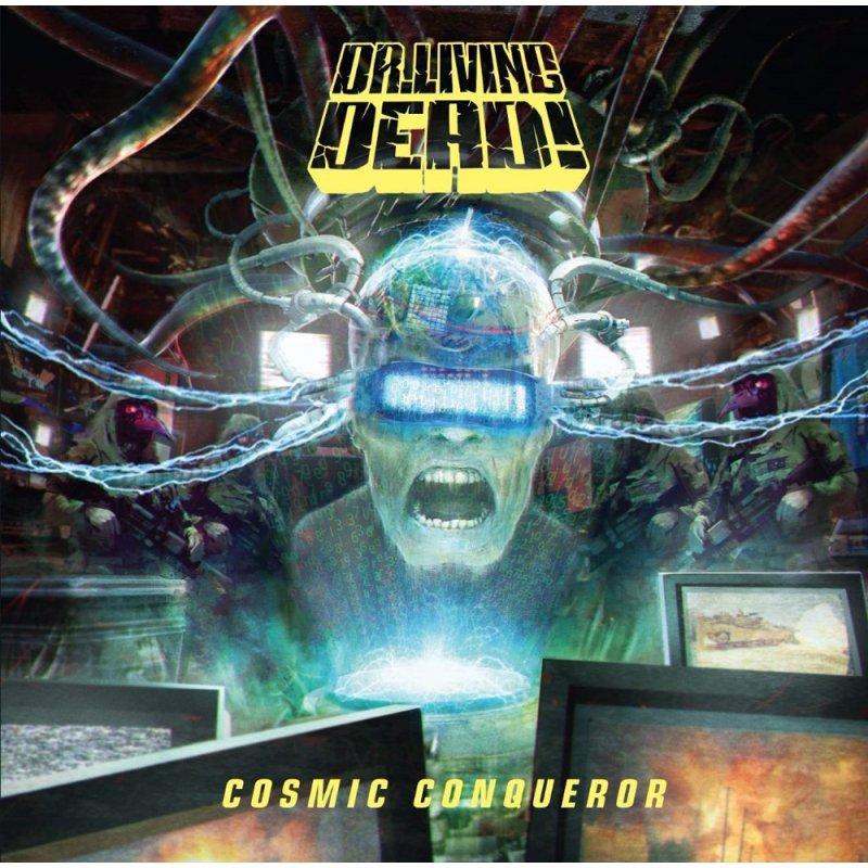 dr living dead cosmic conqueror album cover