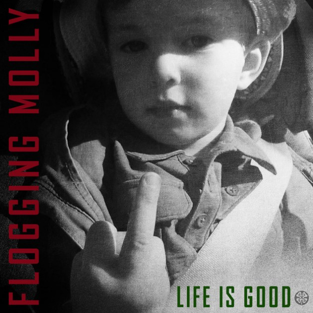 flogging mollylife is good album cover