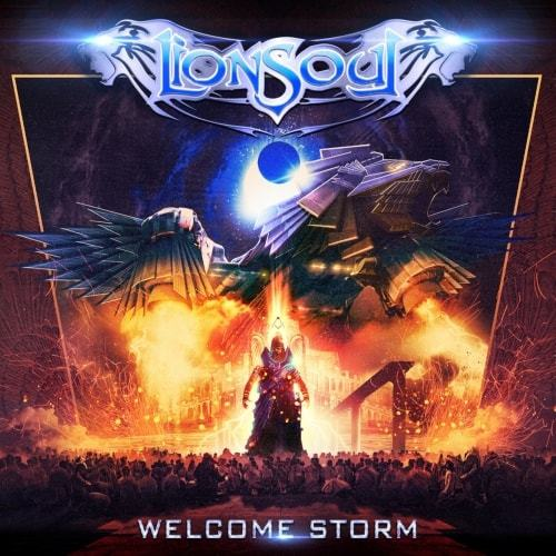 lionsoul welcome storm album cover
