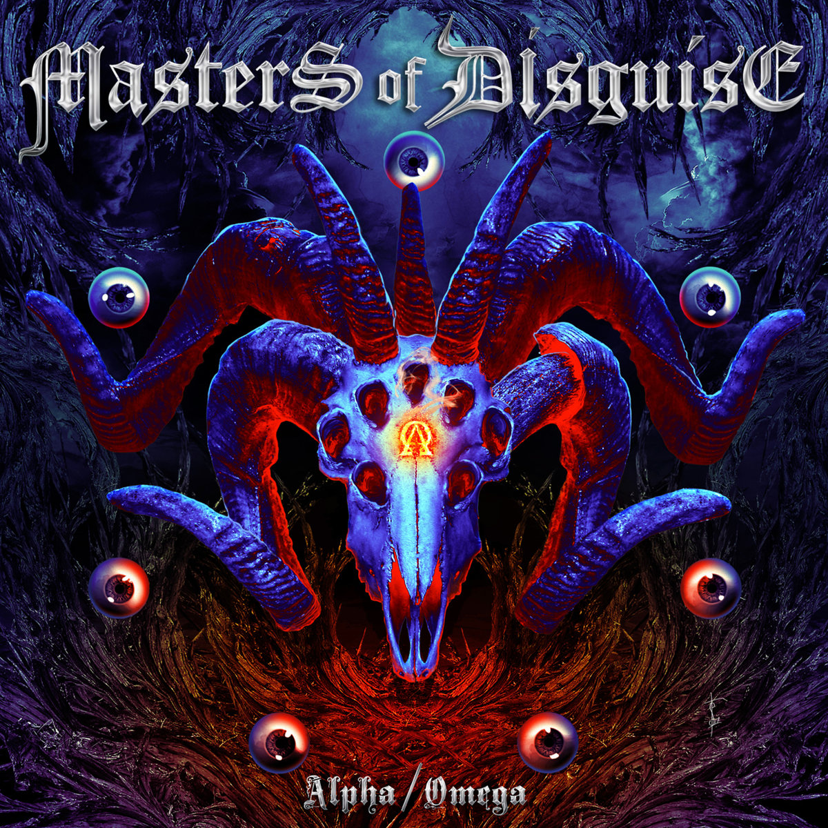 masters of disguise alpha/omega album cover