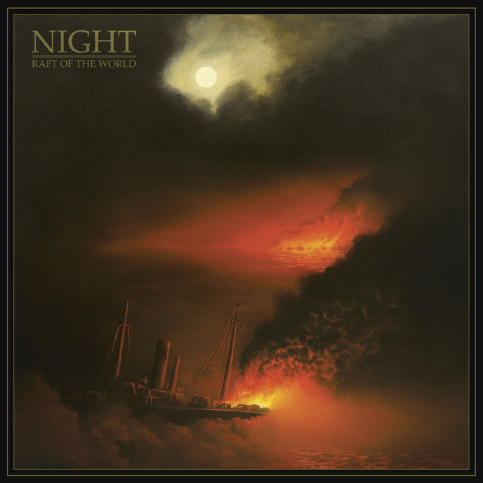 night raft of the world album cover