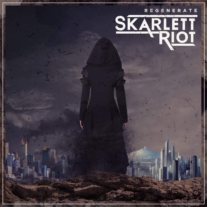 skarlett riot regenerate album cover