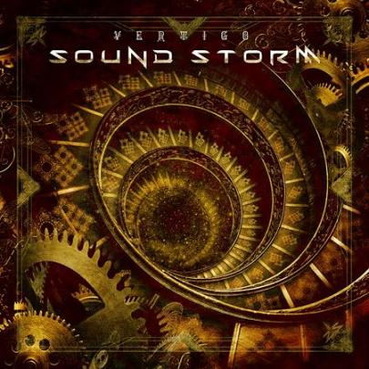sound storm vertigo album cover
