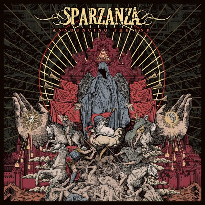 sparzanza announcing the end album cover