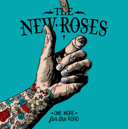 the new roses one more for the road album cover