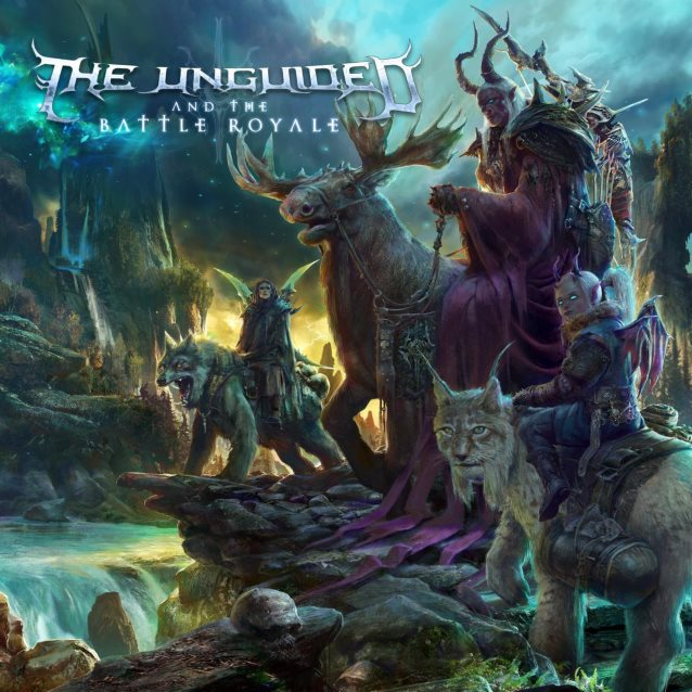 the unguided and the battle royal album cover