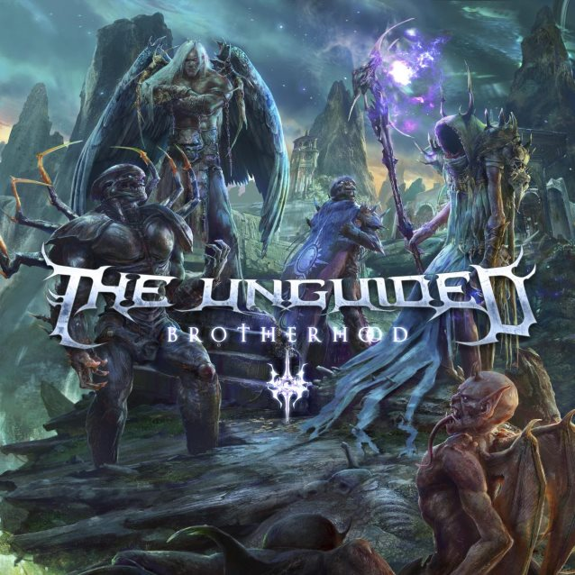the unguided brotherhood ep album cover