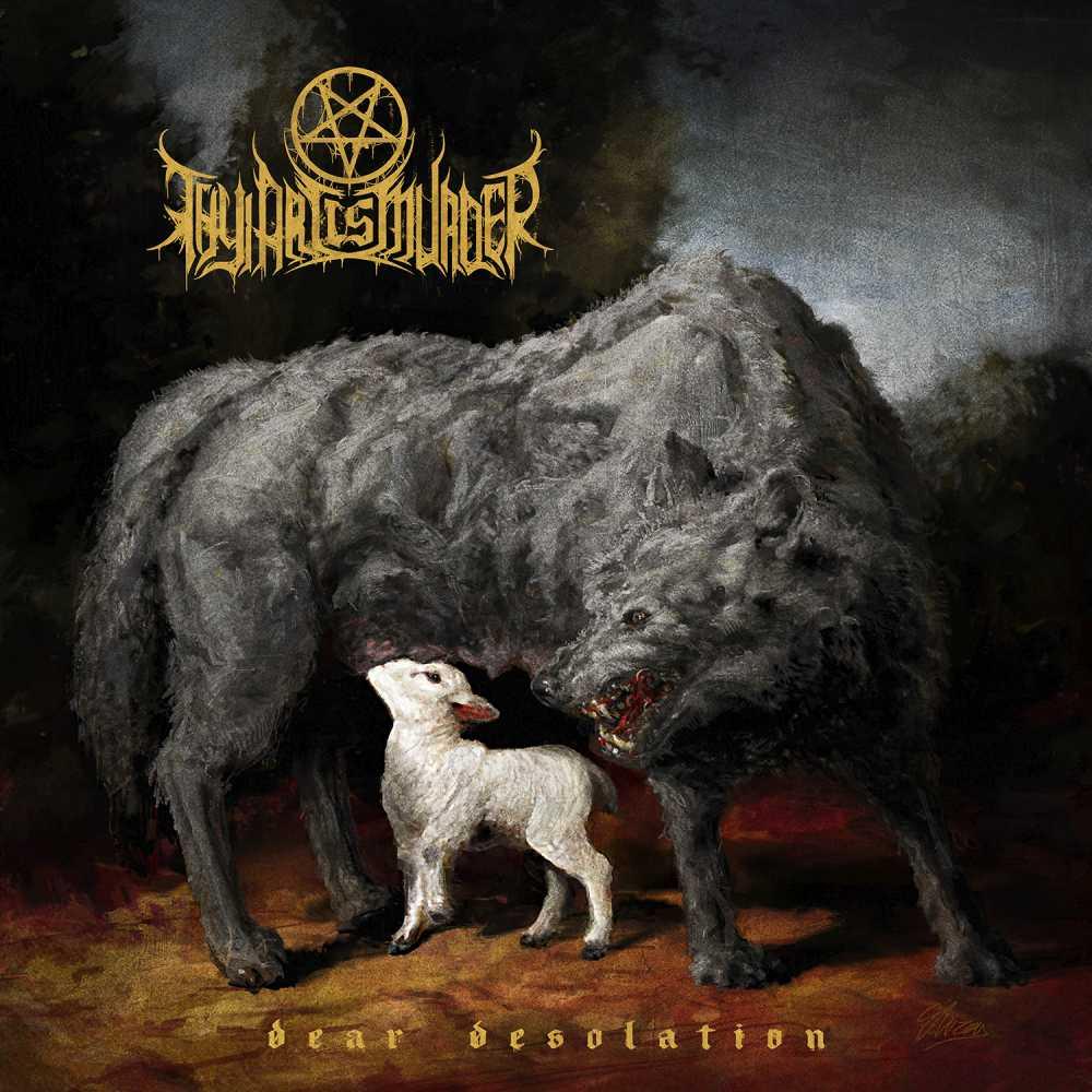 thy art is murder dear desolation album cover