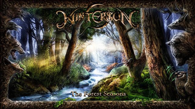wintersun the forest seasons album cover art