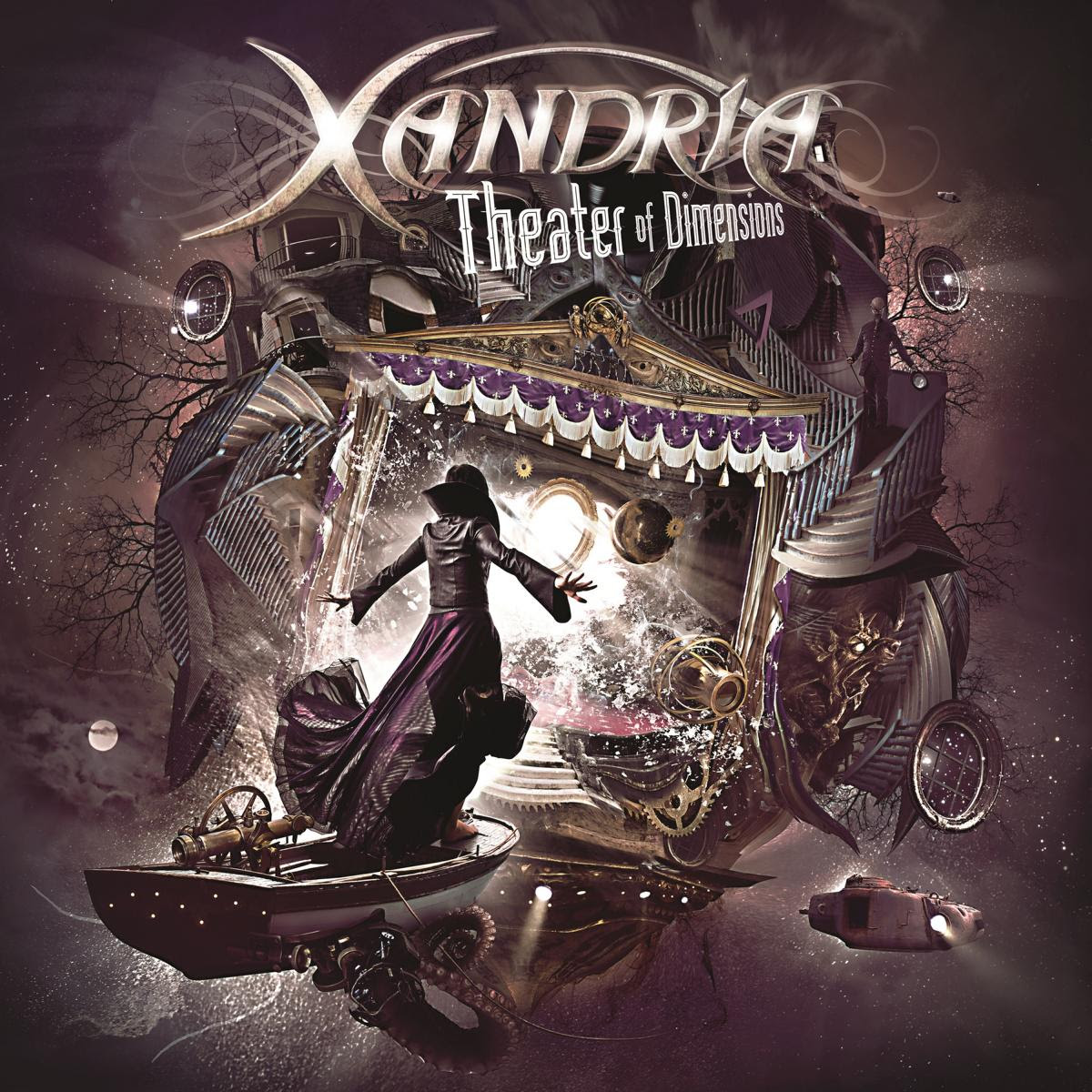 xandria theather of dimensions cover