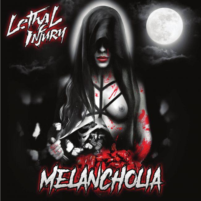 lethal injury melancholia album cover