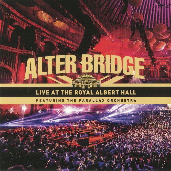 alter bridge live at the royal albert hall album cover