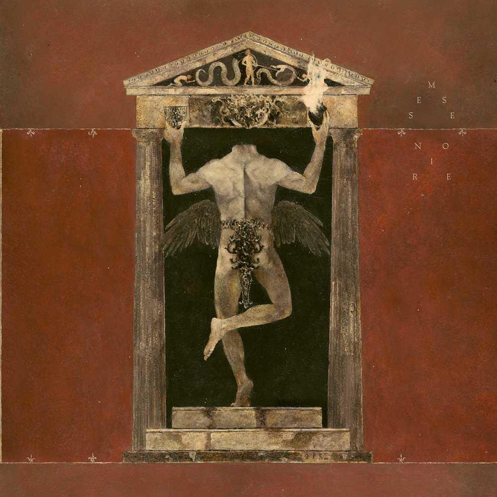 behemoth messe noir album cover