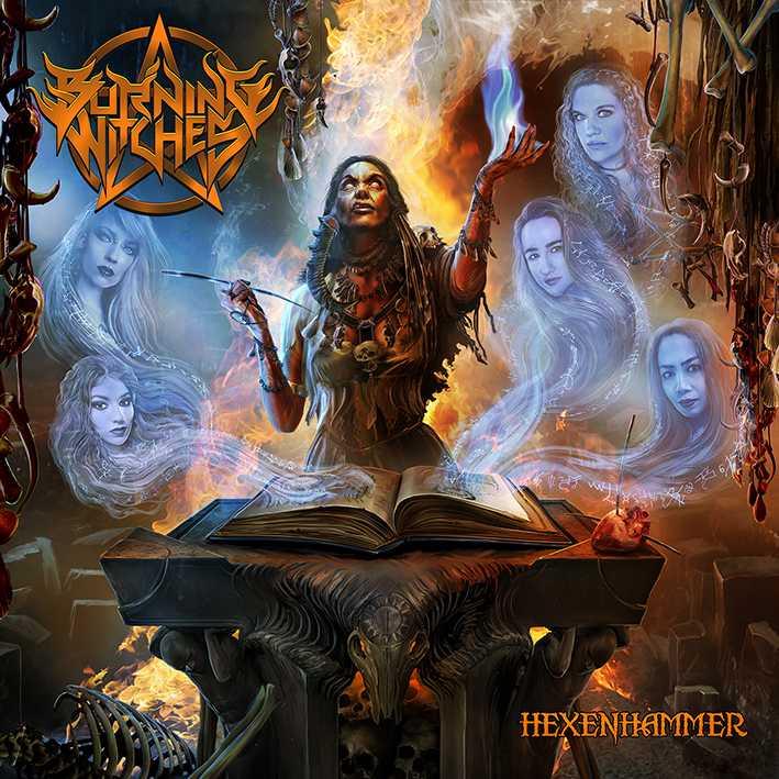 burning witches hexenhammer album cover