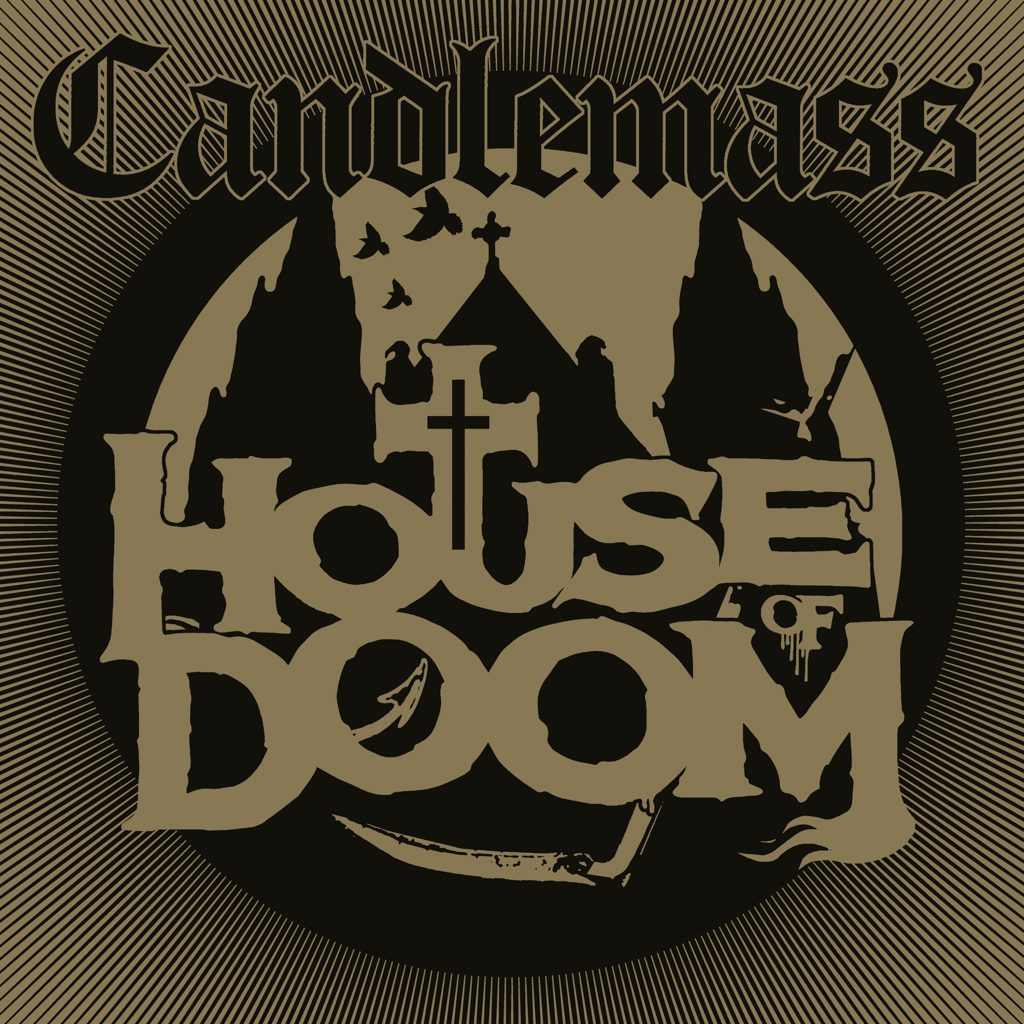candlemass house of doom album cover