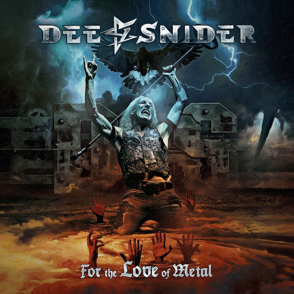dee snider for the love of metal album cover art