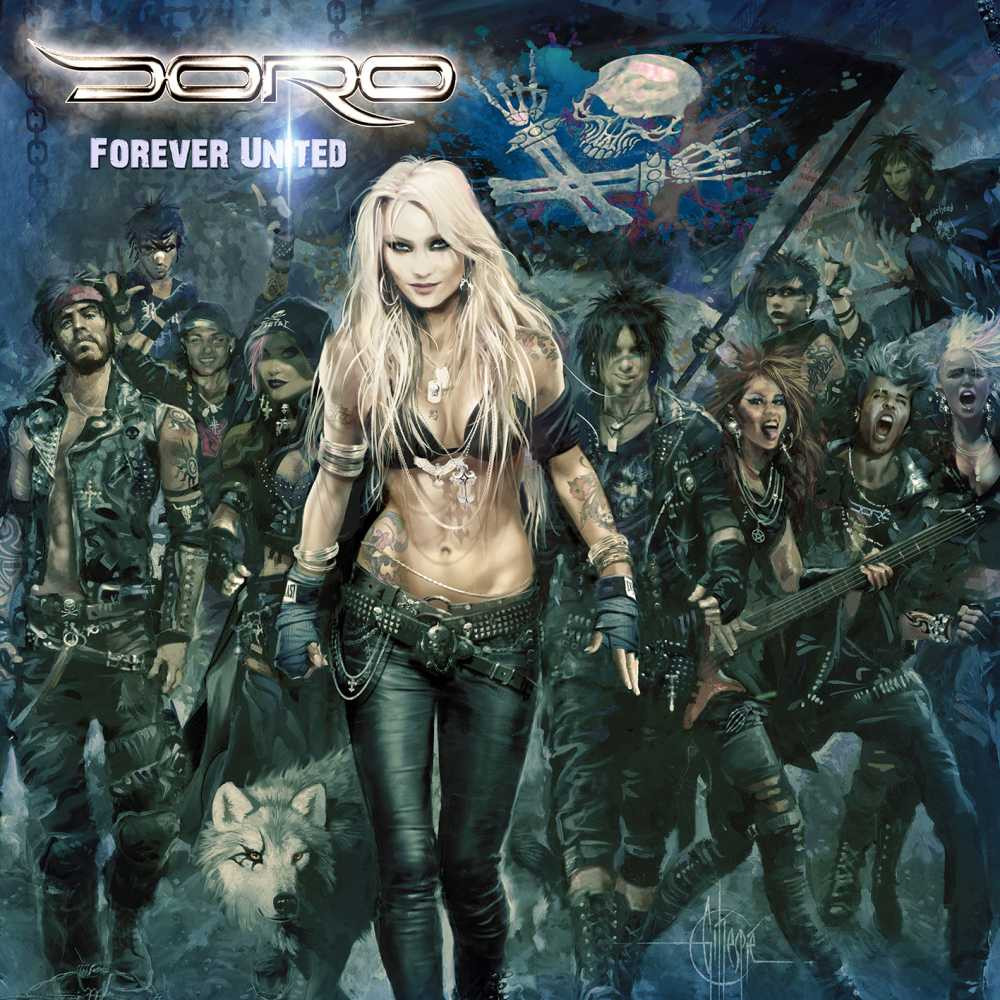 doro forever united forever warriors album cover