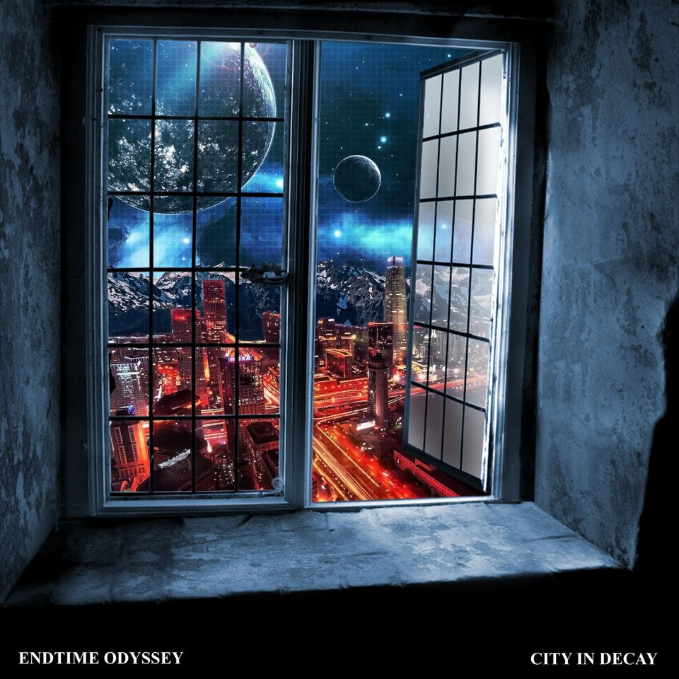 endtime odyssey city in decay album cover