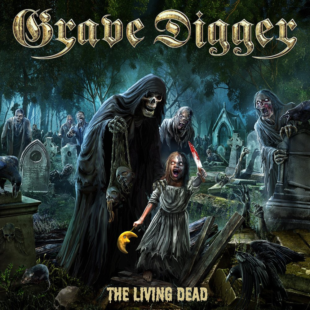 grave digger the living dead album cover