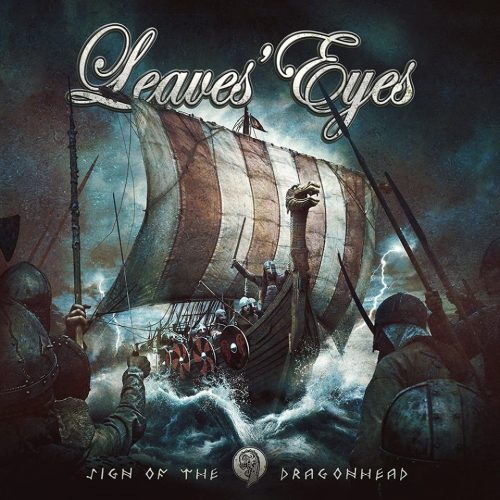 leaves eyes sign of the dragonhead album cover
