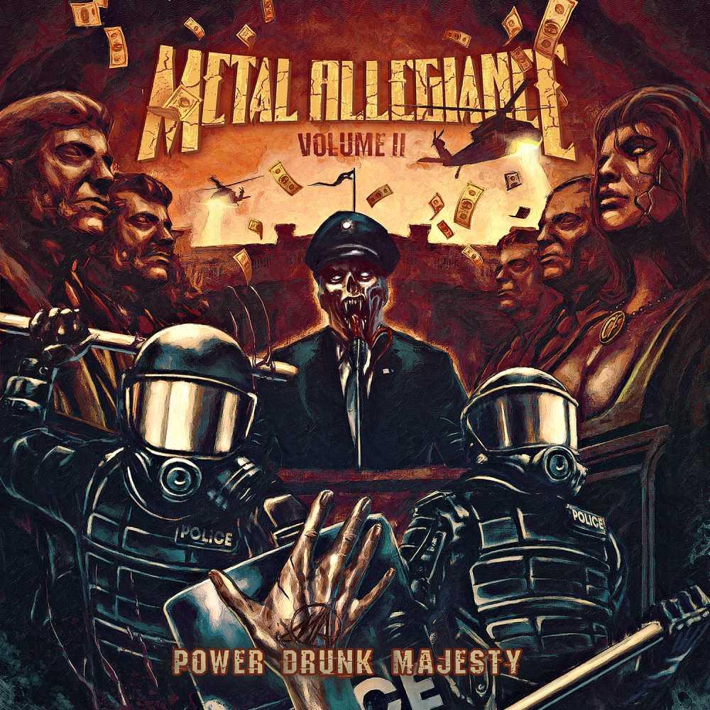 metal allegiance volume ii power drunk majesty album cover